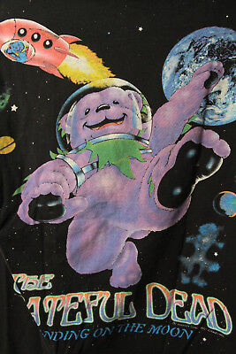 The Grateful Dead T Shirt Standing on the Moon 1995 XL Sold As Is