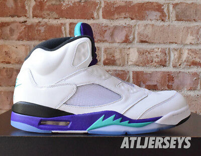 c75059a4f078 NIKE AIR JORDAN 5 V Retro NRG Fresh Prince Grape AV3919-135 Size 8 ...