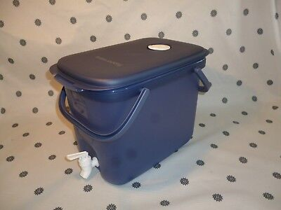 Tupperware 10L Drink Dispenser Blue New