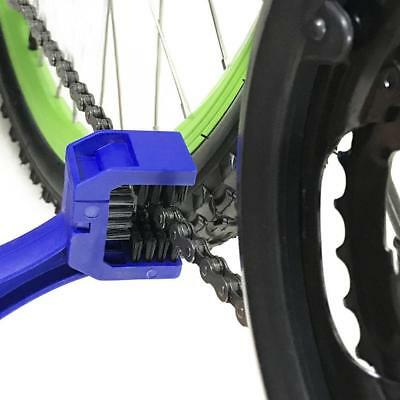 New Bicycle Motorcycle  Chain Brush Cleaner Cycling Bike Wheel Scrubber Tool