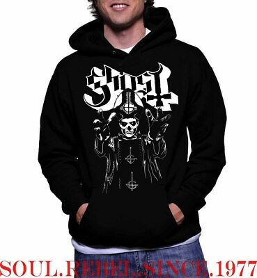 Ghost Hoodies Punk Rock Black Metal Men's Sizes