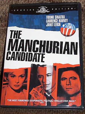 The Manchurian Candidate (Dvd,2004)  - Special Edition - Frank Sinatra - Mint!