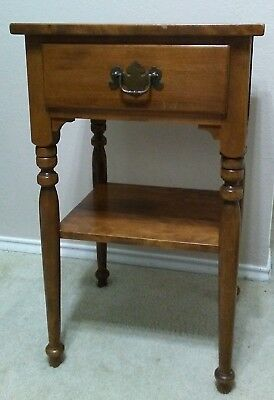 Vintage Ethan Allen End Table Night Stand 10-5026
