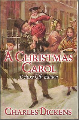 Christmas Carol by Charles Dickens (English) Hardcover Book Free Shipping!