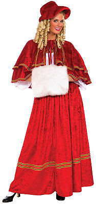 Christmas Caroler Adult FM70160, Red, One Size