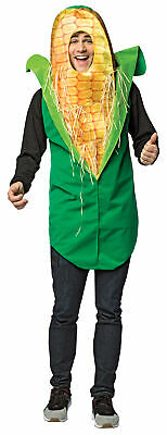 Corn On The Cob Adult Get Real  GC6951, Green/Yellow, One Size