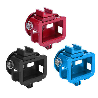 Aluminum Alloy Protective Case Frame Housing + Wrist Strap for GoPro Hero 5/6