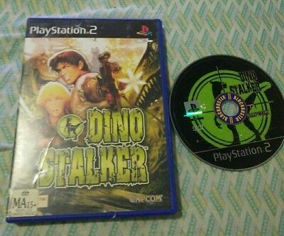 Dino Stalker - Playstation 2 (PS2)  *CAPCOM* PAL,AU