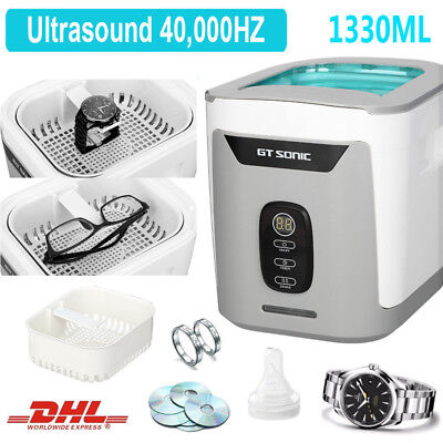 1330ML Ultraschallreinigungsgerät Ultraschallreiniger Ultrasonic Cleaner + Korb