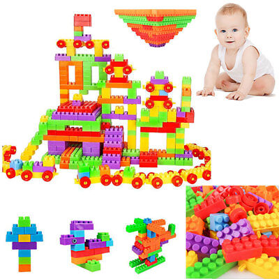 2016 Plastic Building Blocks Kids Toys Puzzle Educational Toy Baby Gift 400pcs