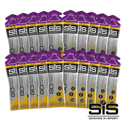 Science in Sport (SiS) GO Isotonic Energy Gels 60ml 20 Pack - Blackcurrant
