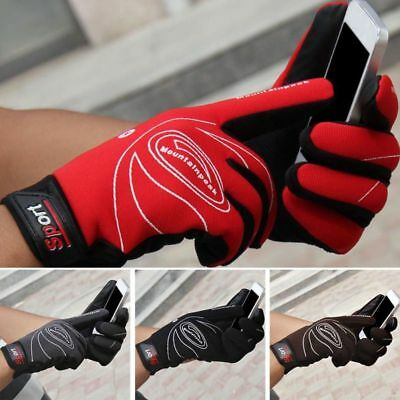 Men Women Outdoor Winter Touch Screen Sports Windproof Thermal Warm Gloves New