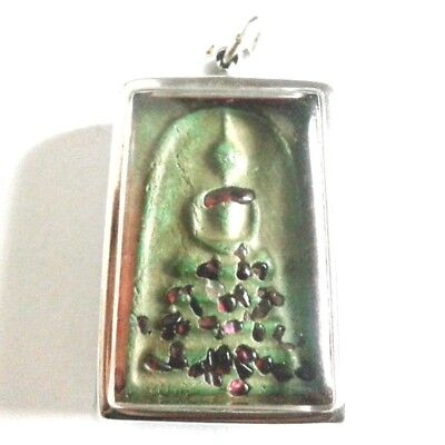 Pendant Necklace Phra Somdej Dungeon Kru Magic Holy Great Kindness Safe All B14