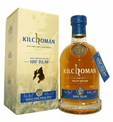 Kilchoman 100% Islay 8th Edition Single Malt Whisky 50,0% vol. 0,7 Liter
