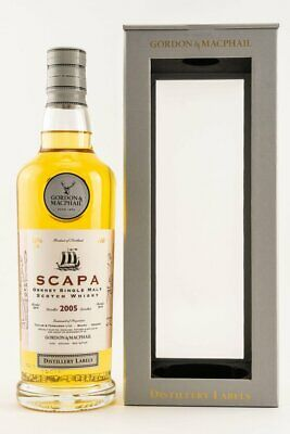 Gordon & MacPhail Scapa 2005/2019 Single Malt Whisky - 43,0% vol. - 0,7 Liter