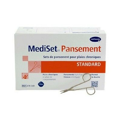 Mediset Set de Pansements Standards 1 boîte de 5 sets