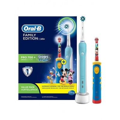 Oral-B Family Edition Pro 700+ Cross Action Stages Power Disney