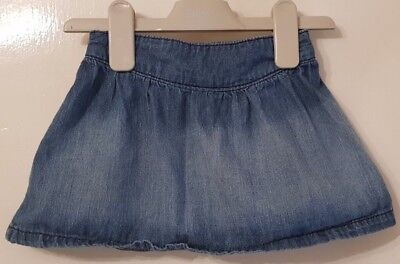 Girls 18-24 Months George Denim Skirt