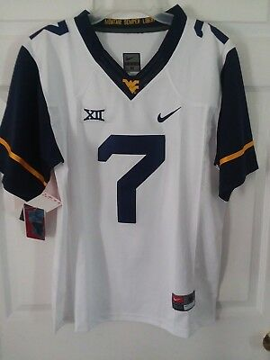 Will Grier Jersey  7 West Virginia Mountaineers Sewn College Football Jersey 7f41ba210
