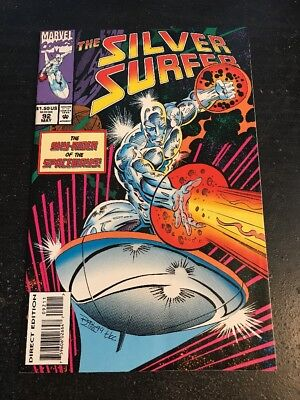 Silver Surfer#92 Incredible Condition 9.0(1994) Ron Lim Art!!