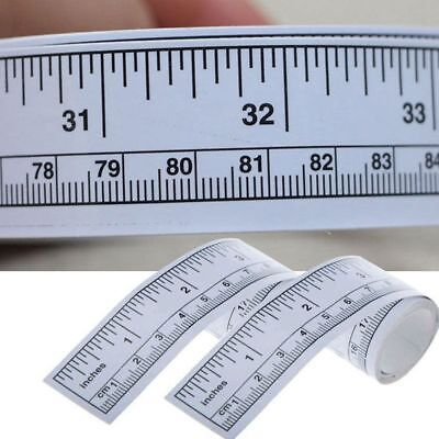 Rulers Sticker Machine Silver Sewing Adhesive Measure Tape Self Ruler