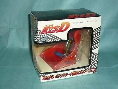 INITIAL D Bucket seat mobile Rare stand Red