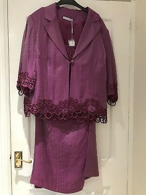 Gina Bacconi Mother Of The Bride Outfit Size 20