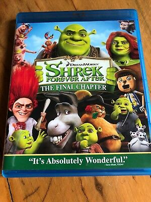 Shrek Forever After (Blu-ray Disc, 2010) Mike Myers, Cameron Diaz, Eddie Murphy