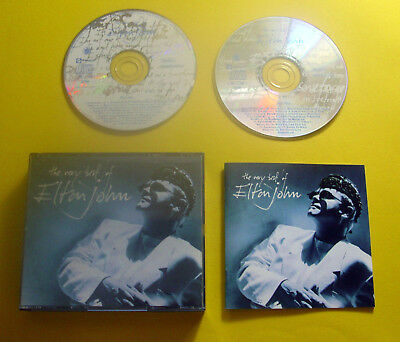 """2 CDs """" ELTON JOHN - THE VERY BEST OF """" 30 GREATEST HITS (YOUR SONG)"""