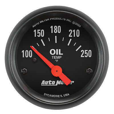 "Autometer 2638 Z-Series 2-1/16"" Oil Temp 100-250 Degree Electrical"