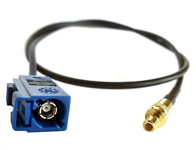 Fakra-Z Female to-SMB Male RF plug, 15CM RG174 cable-for Neutral Coding -ref:742