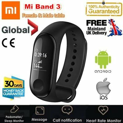 Xiaomi Mi Band 3 Smart Bracelet Miband 3 OLED Touch Screen Fitness Tracker DQ