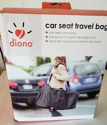 Diono Car Seat Travel Bag Black