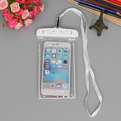 Outdoor Waterproof Phone Bag Phone Case With Neck Strap For Swimming Surfing E#
