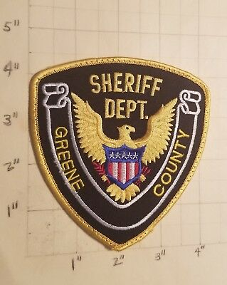 Greene County (Leakesville, MS) Sheriff's Department Patch