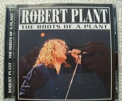 """Robert Plant """"The Roots Of A Plant""""Cd Live Charity Gig Nyc Usa 2001 Led Zeppelin"""