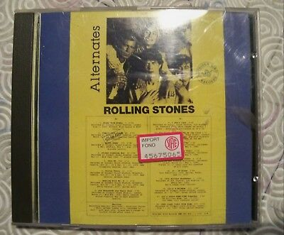 "Rolling Stones ""Alternates"" Cd Demos And Alternatives Versions Rare Copy 122/150"