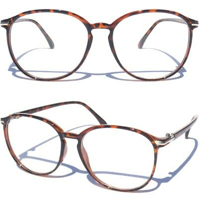 706f588b15 RETRO CLASSIC THIN FRAME Oval Clear Lens Glasses Vintage Style Hipster New