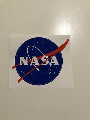 """OFFICIAL NASA """"MEATBALL"""" STICKER - Authentic Vinyl Decal 3.5""""  - 1 Sticker - NEW"""