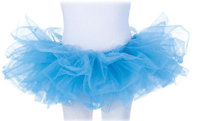 Tutu Costume Accessory Child: Neon Blue One Size Fits Most