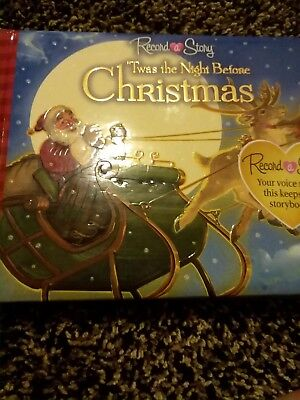Record a Story : 'Twas the Night Before Christmas (2010, Board Book)