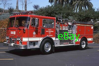 Fire Truck Photo Los Angeles City Classic Seagrave HB Engine Apparatus Madderom