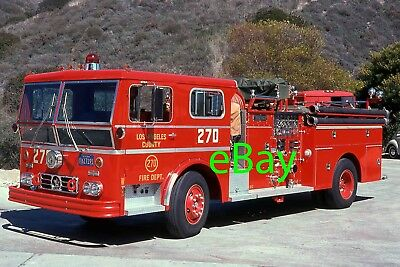Fire Truck Photo Los Angeles Classic WLF Ambassador Engine Apparatus Madderom