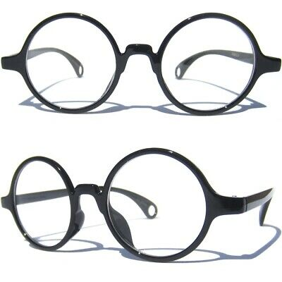 6a4f8e7a68fb ROUND FRAME Clear Lens GLASSES Smart Nerd Sexy Classic Fashion Vintage  Inspired