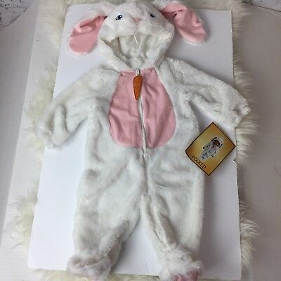Spooked Baby Halloween Costume Rabbit Bunny One-Piece 6 - 9  Months NEW