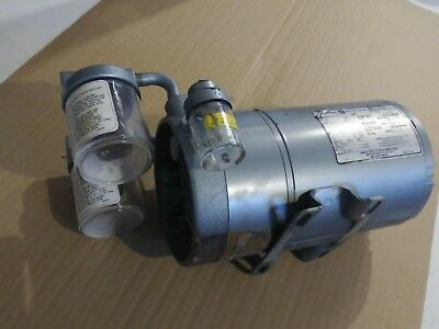 0522-V3-G314DX - Gast rotary vane vacuum pump with General Electric motor