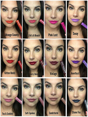 NYX Liquid Suede Waterproof Long lasting Cream Lipstick 12 Colors Pick