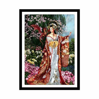 Beauty 5D DIY Diamond Painting Embroidery Cross Craft Stitch Kit Home Wall Decor