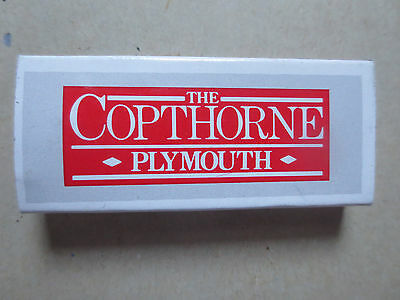 Matchbox: The Copthorne Hotels- Plymouth, UK