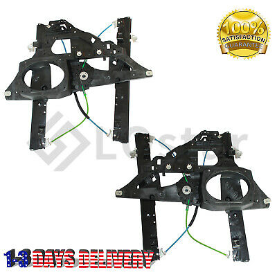 Pair(2)Window Regulator Front Left and Right Fits 03-06 Ford Expedition Lincoln